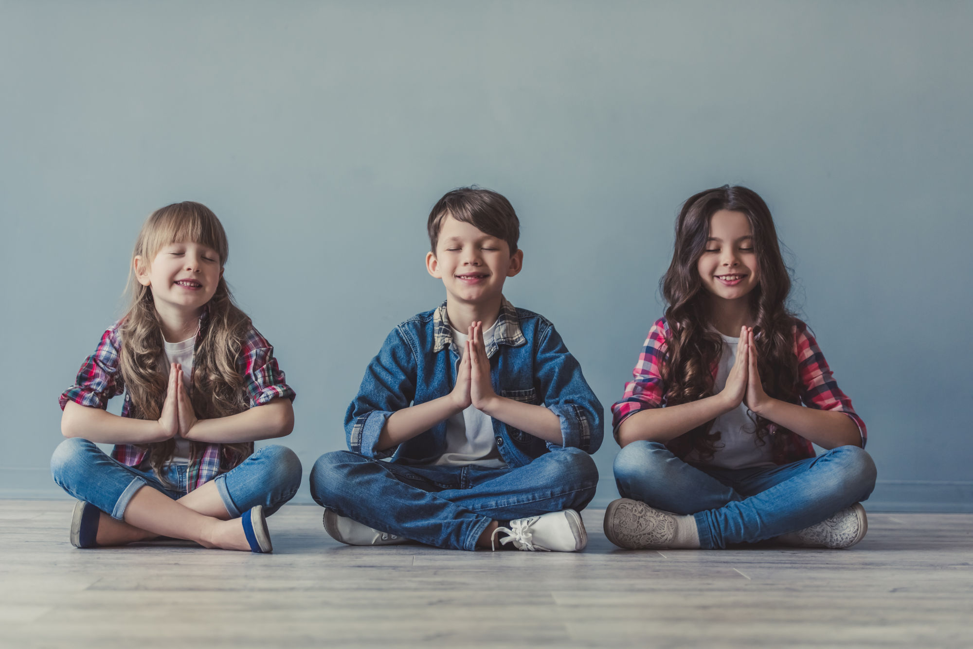 A New Term Of Yoga For Children Starts In September